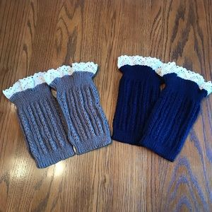 Accessories - 2 new pairs boot warmers